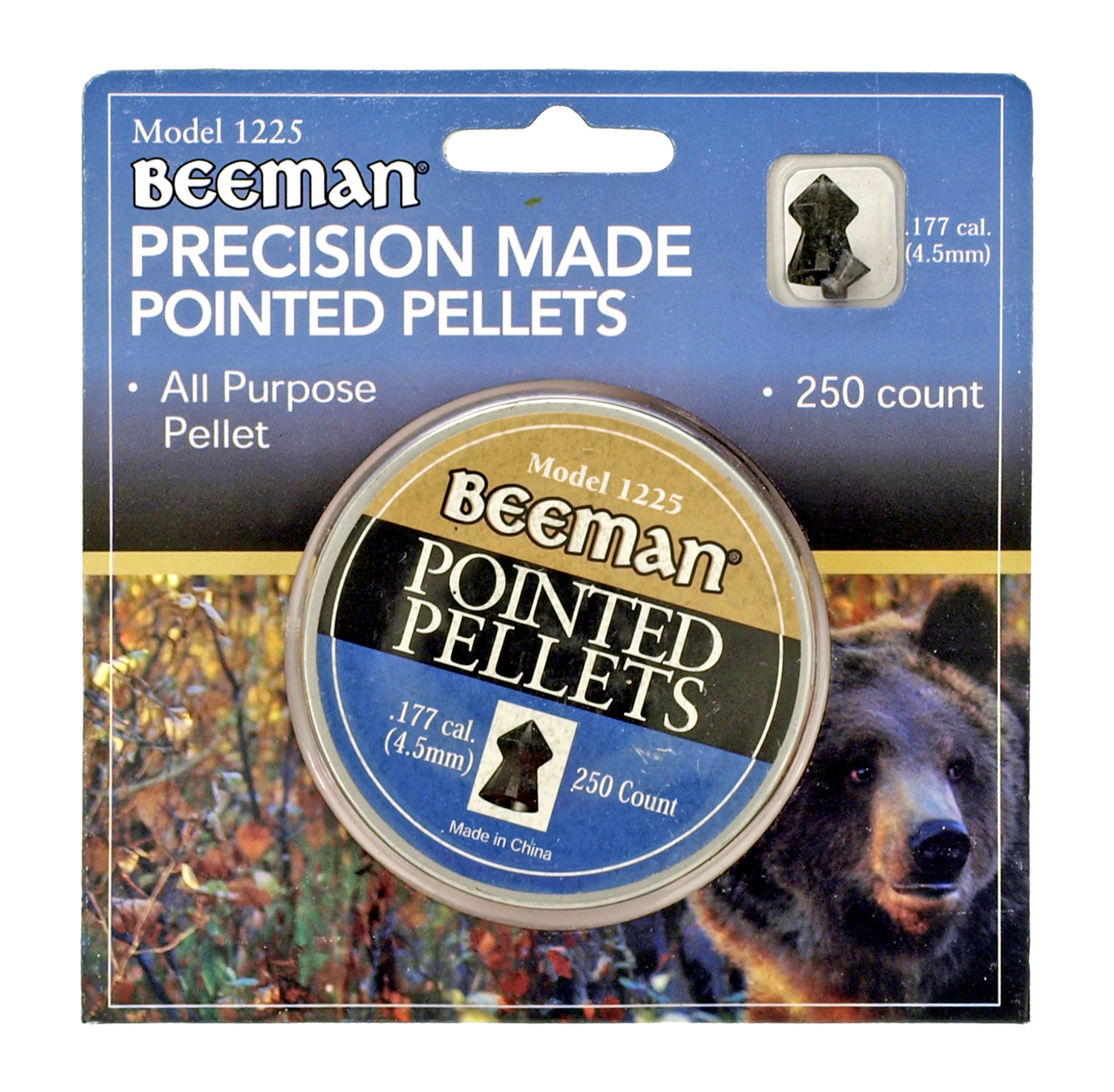 Beeman Precision Made Pointed Pellets - 250 Ct.