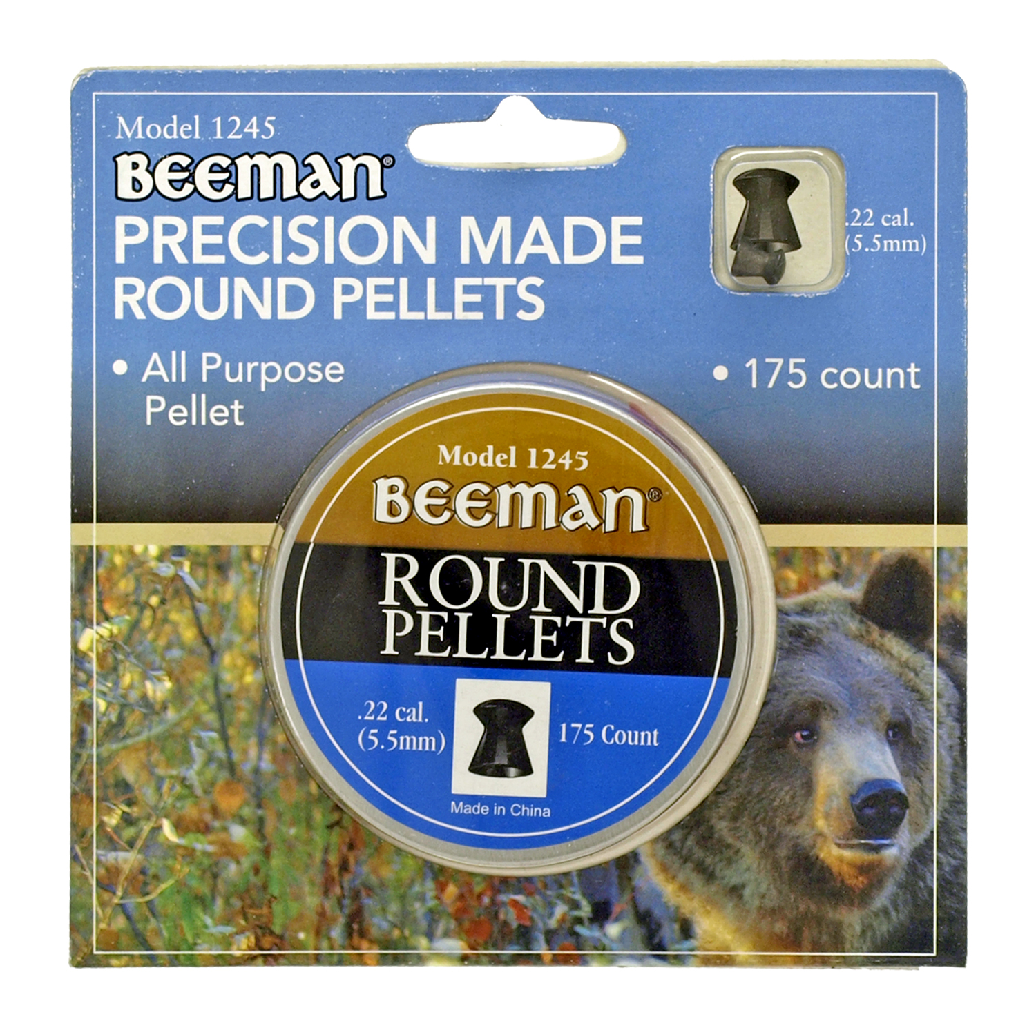 Beeman Precision Made Round Pellets - 175 Ct.