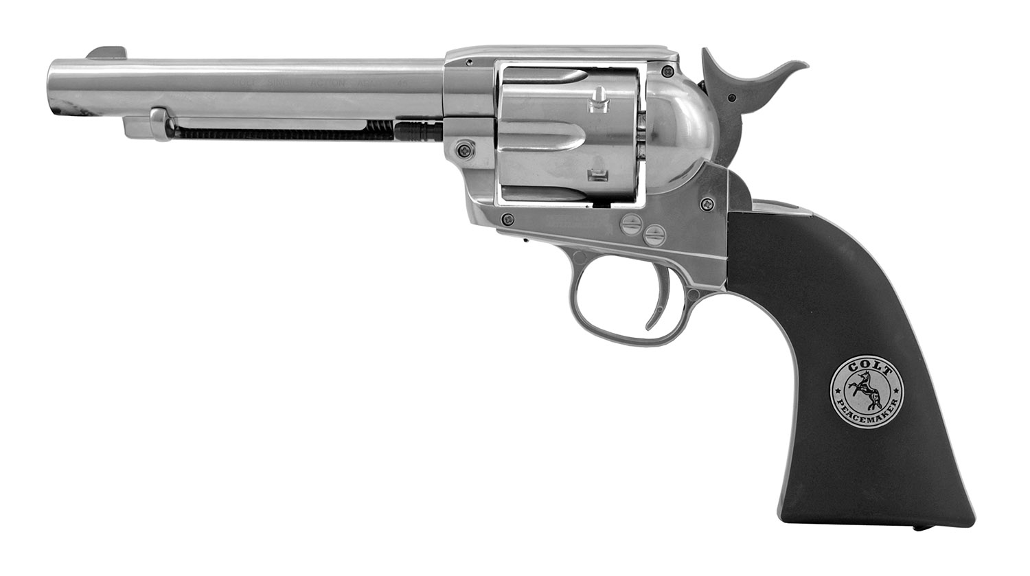 Umarex Colt Single Action Army .45 Replica .177 Cal. CO2 Revolver Pellet Pistol - Refurbished