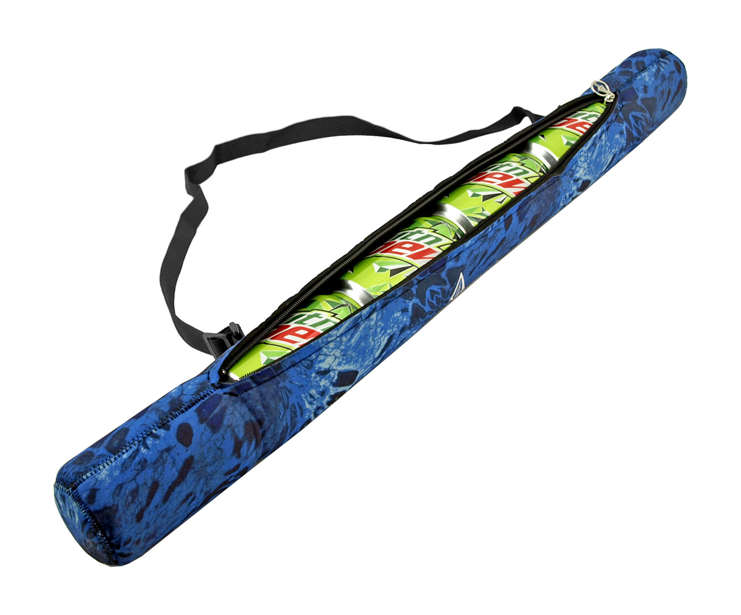 The Beer and Soda Pop Can Shoulder Koozie Cooler Sling Beach Backpack - PRYML1 Camo