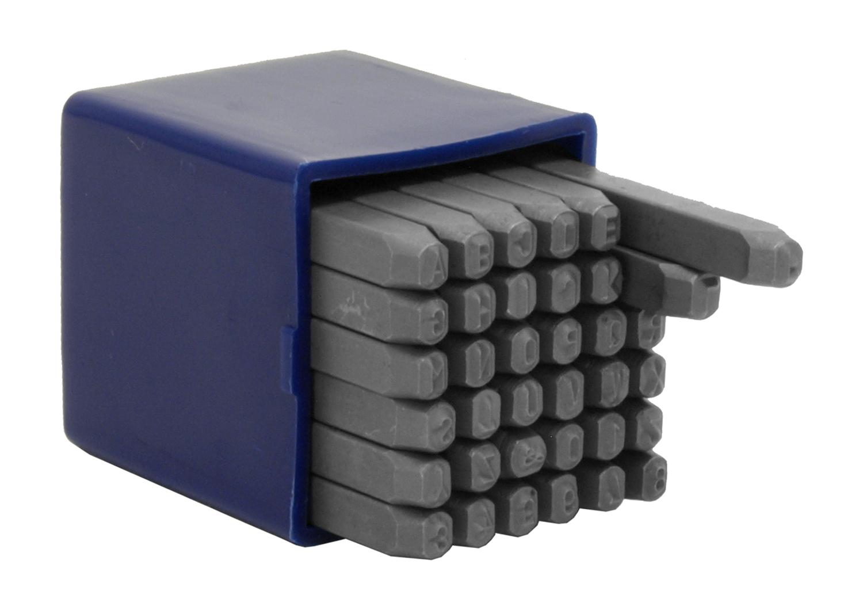3MM Letter & Number Stamp/Punch Set - Cal-Hawk
