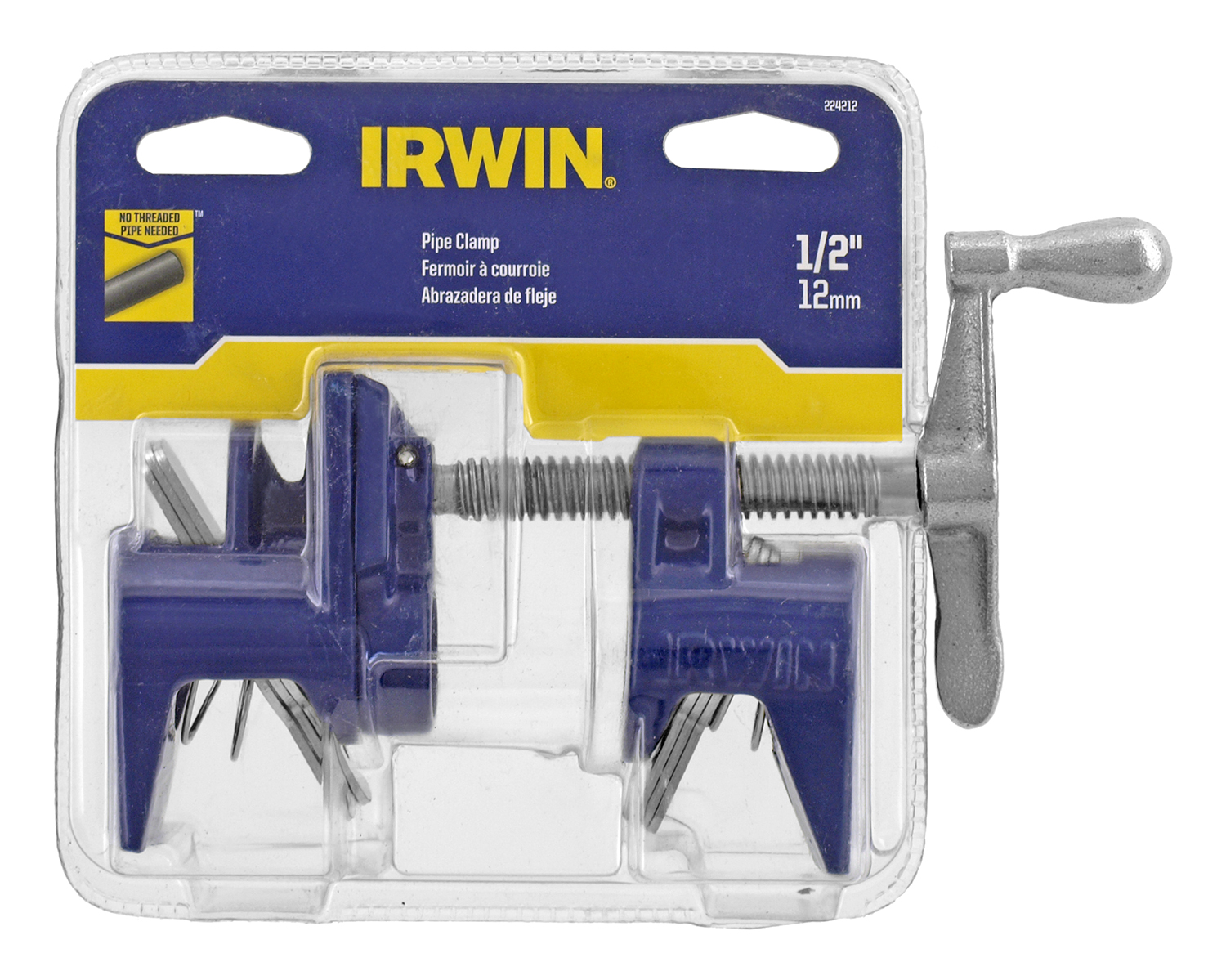 1/2 in Pipe Clamp Vise 224212  - Irwin