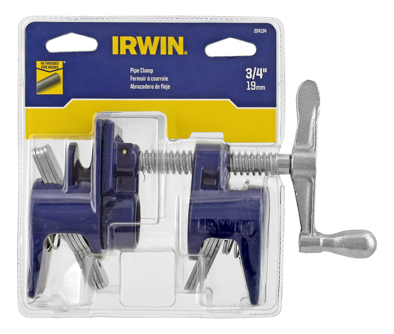 3/4 in Pipe Clamp Vise 224134  - Irwin