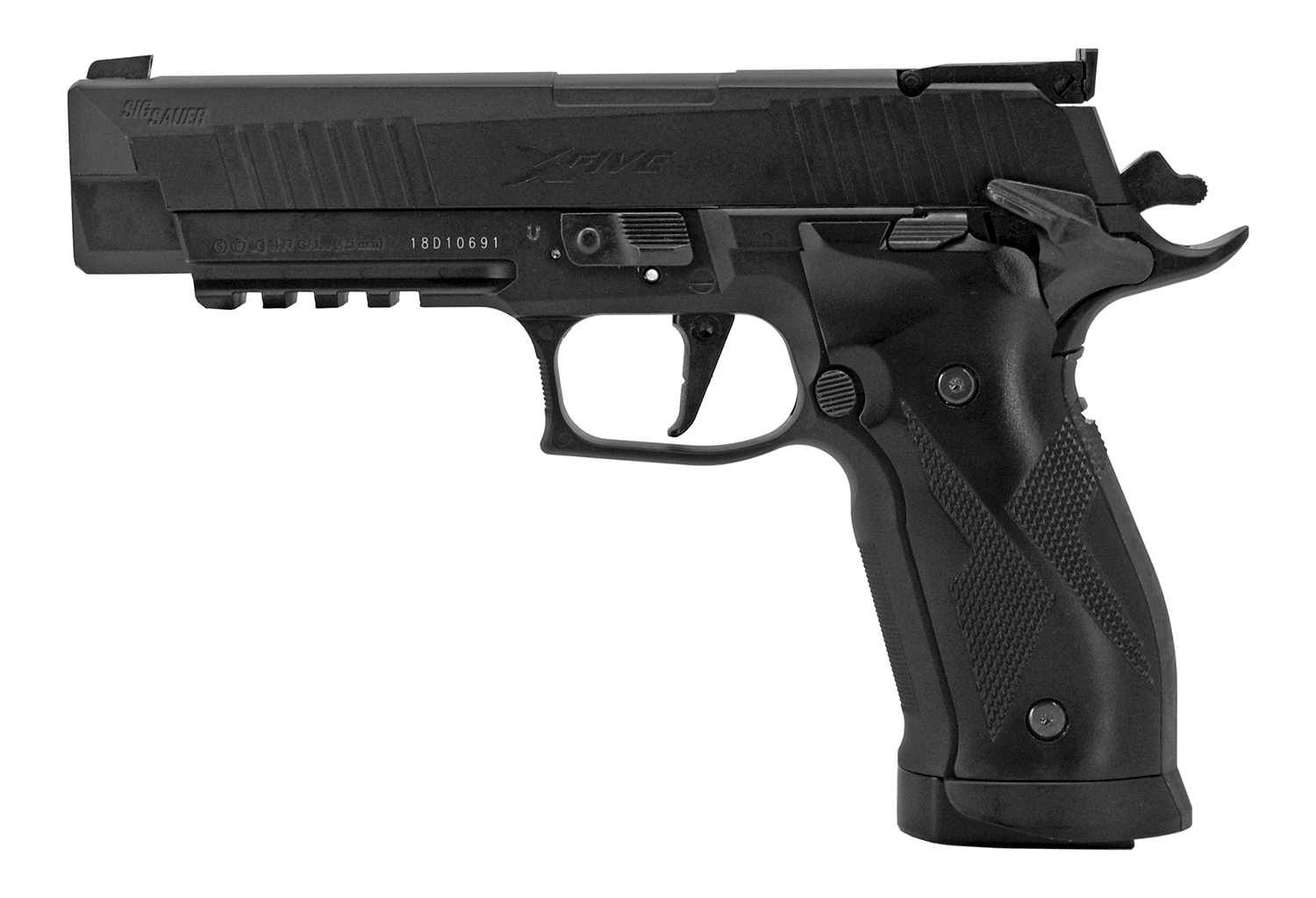Sig-Sauer X-Five .177 Cal. Pellet Handgun Black - Refurbished