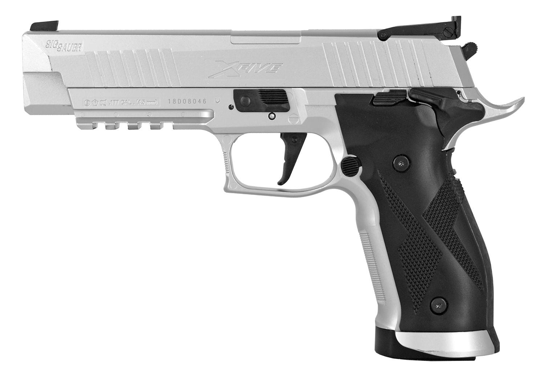 Sig-Sauer X-Five .177 Cal. Pellet Handgun Silver - Refurbished