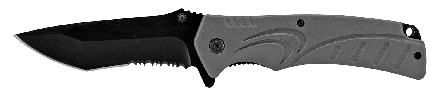 4.75 in NuWave Folding Pocket Knife - Grey