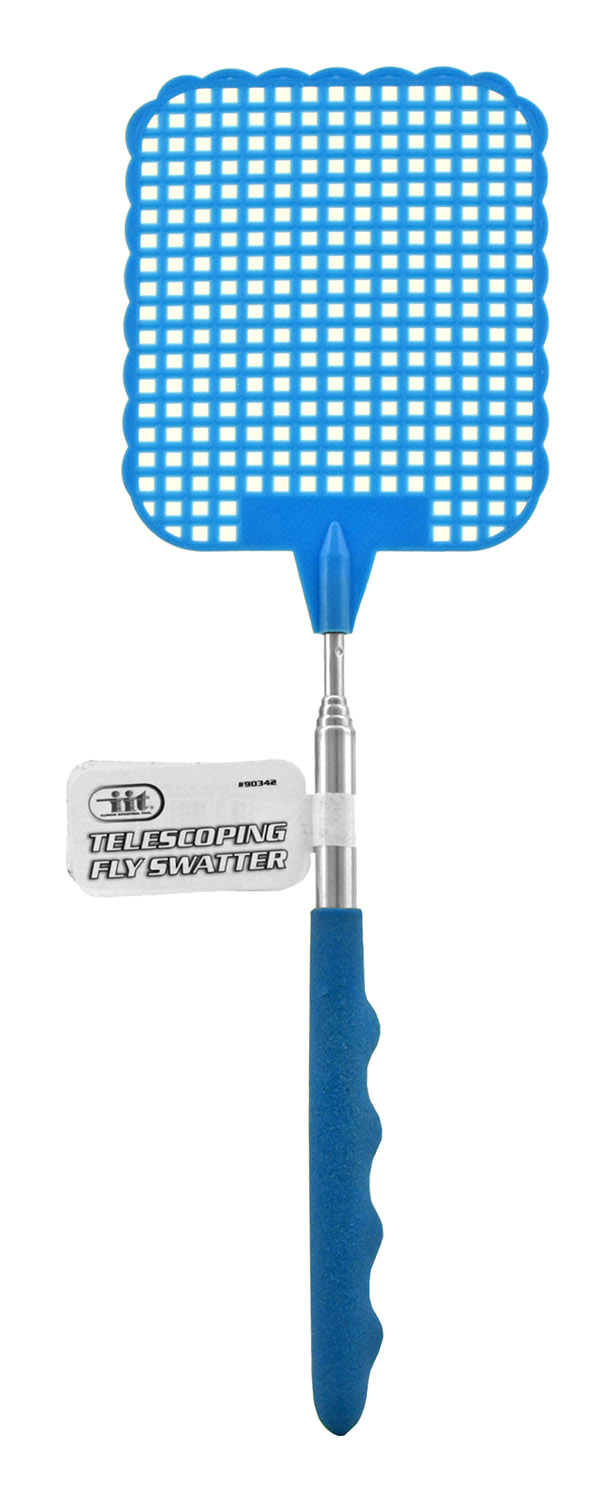 The Classic Collapsible Fly Swatter with Expandable Metal Handle