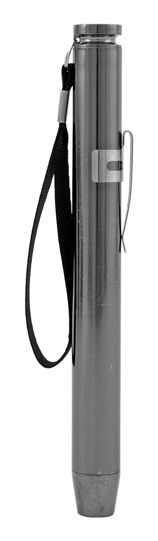 Aluminum Pen Pocket Fish Eye Lens Flashlight - Assorted Colors