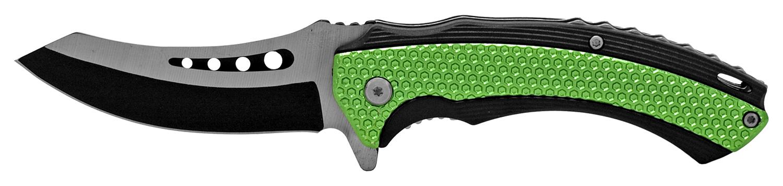 4.88 in Wood Carver Folding Pocket Knife - Green