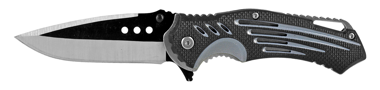 4.75 in Air Stream Folding Pocket Knife - Black