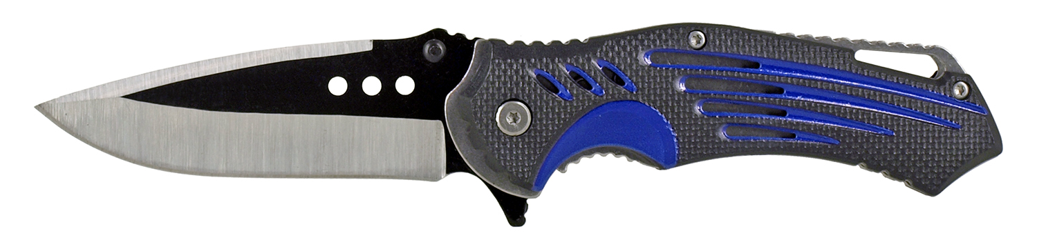 4.75 in Air Stream Folding Pocket Knife - Blue