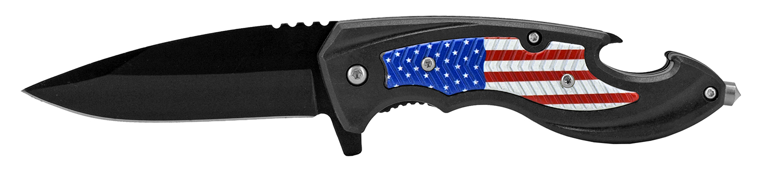 4.75 in Spec Ops Tactical Rescue Folding Pocket Knife - United States