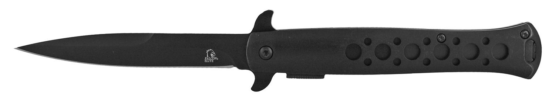 4.88 in Stiletto Knife - Black