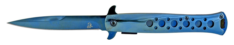 4.88 in Stiletto Knife - Blue