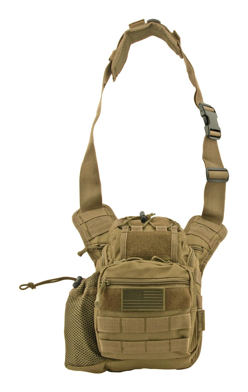 Tour of Duty Tactical Over Shoulder Everyday Carry Hip Bag - Desert Tan