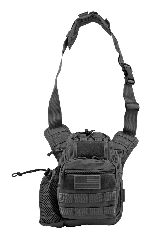 Tour of Duty Tactical Over Shoulder Everyday Carry Hip Bag - Black