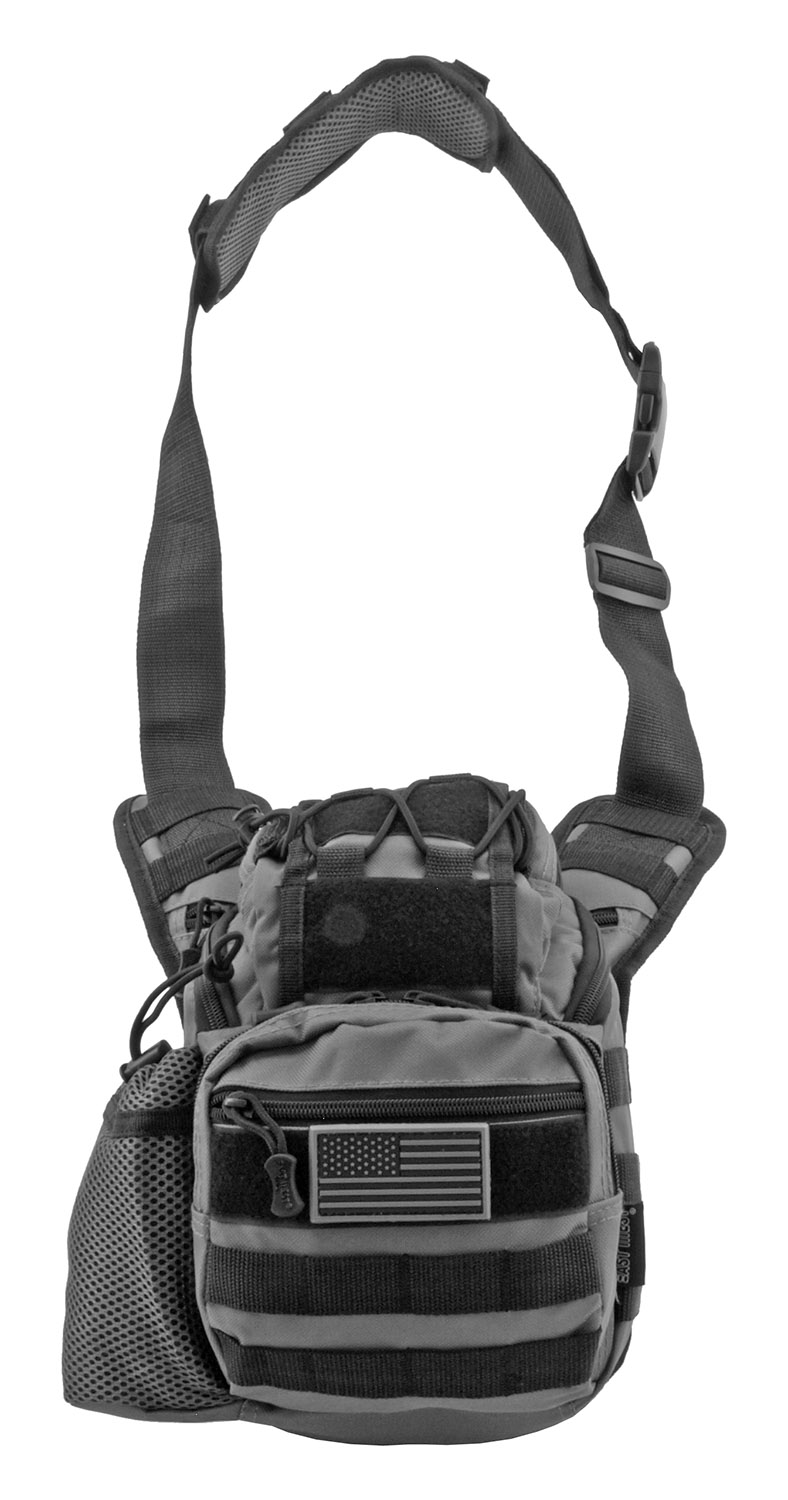 Tour of Duty Tactical Over Shoulder Everyday Carry Hip Bag - Grey
