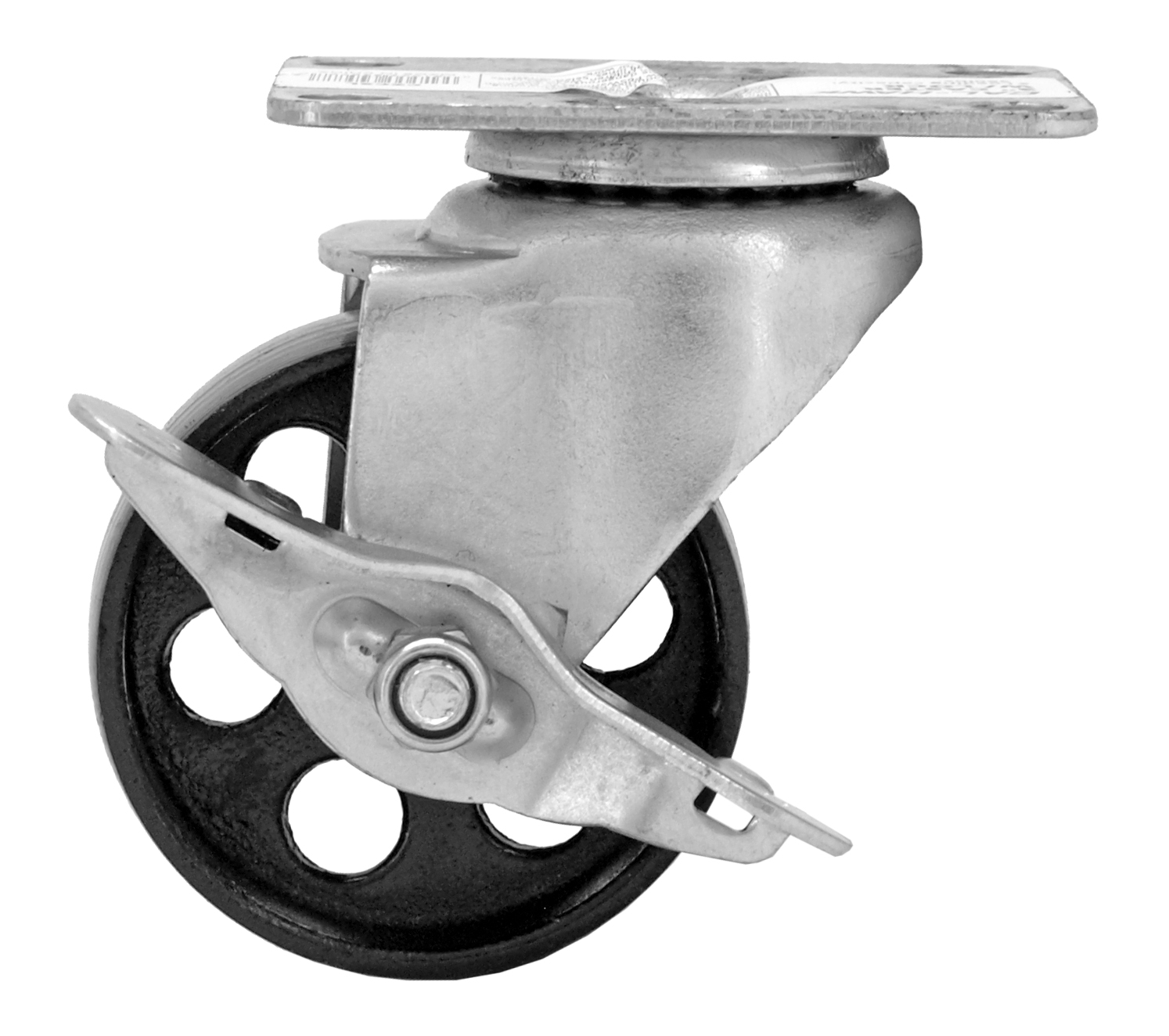 3 in Swivel Caster Wheel with Lock - Cal-Hawk