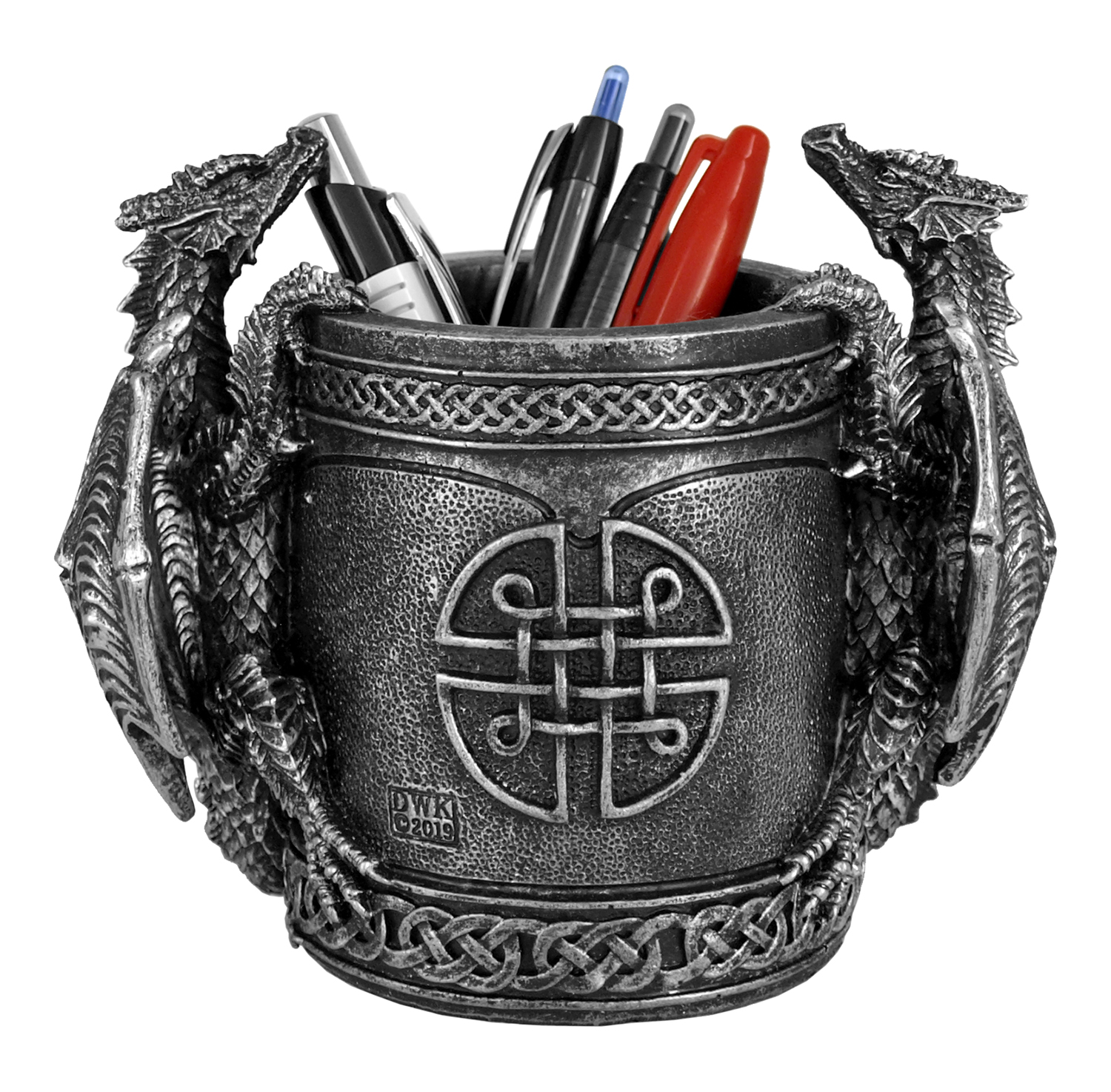 6.5 in Literary Beasts Pen and Pencil Holder