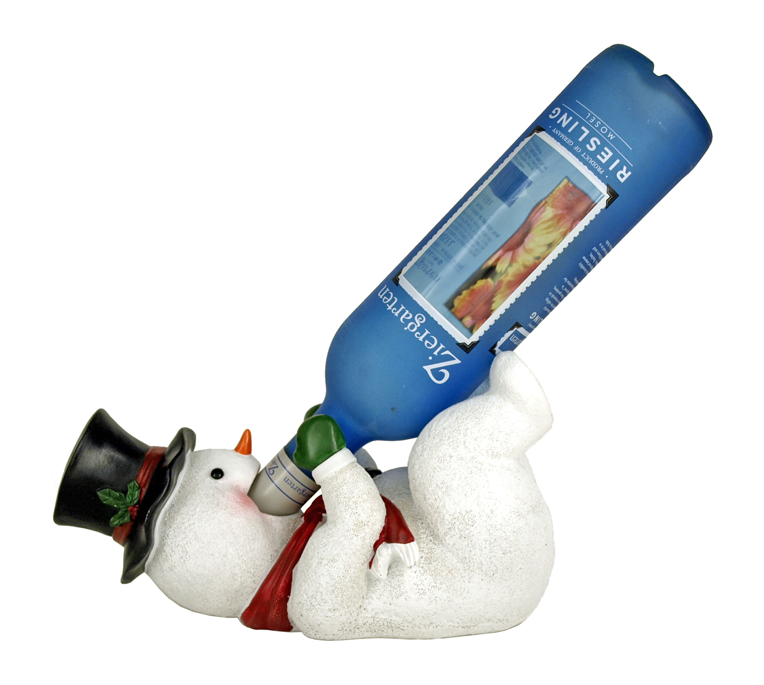 11 in Spirit of Christmas Wine Bottle Holder - Snowman