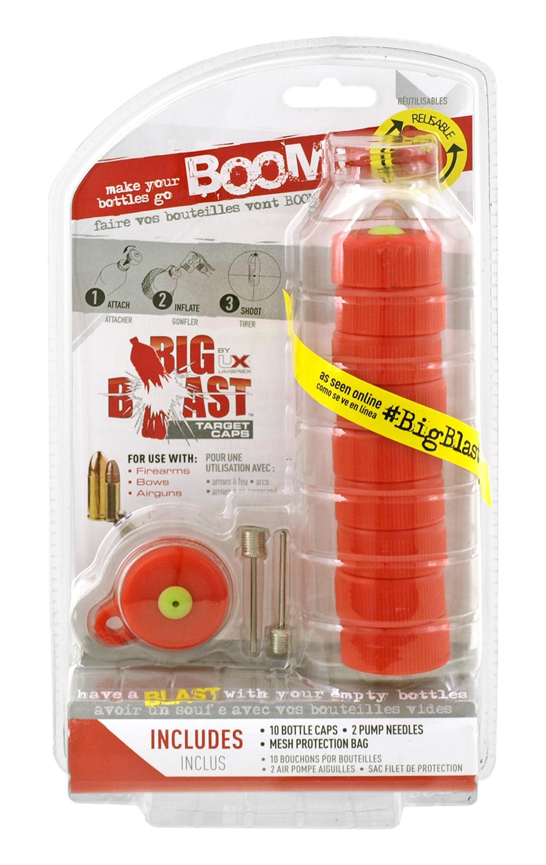 Big Blast Plastic Bottle Top Cap Targets