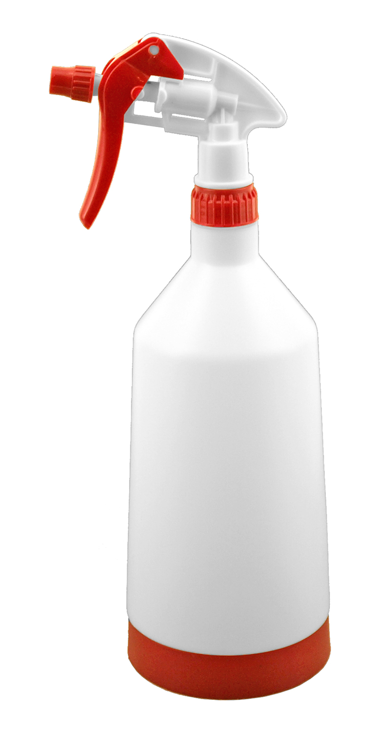 1 Quart Jumbo Spray Bottle with Nozzle Trigger for Cleaners and Solvents