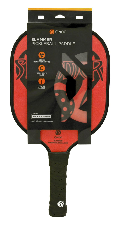 Onix Slammer Pickleball Paddle - Red