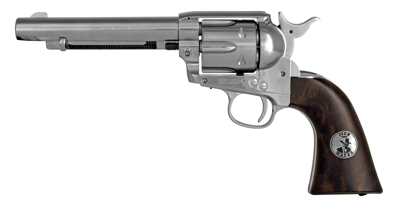 Duke Colt .177 Cal. CO2 Pellet Revolver - Refurbished Nickel