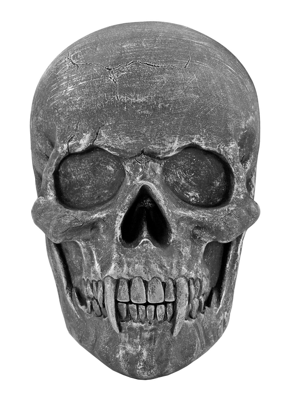 9.25 in Nosferatu Vampire Skull Wall Mount Sculpture - DWK