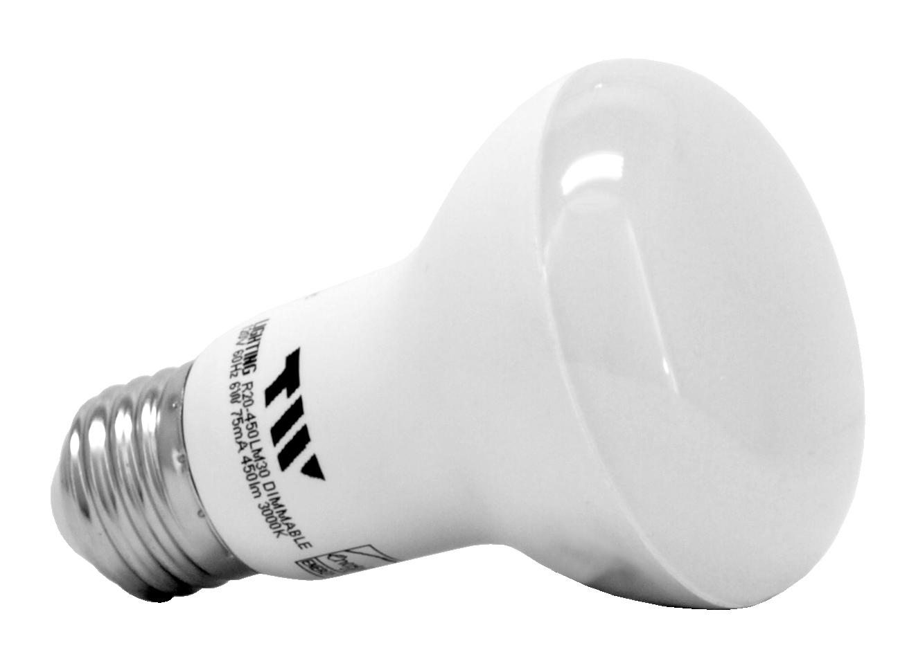 R20 LED Light Bulb - 450 Lumens - 3000k - TW Lighting