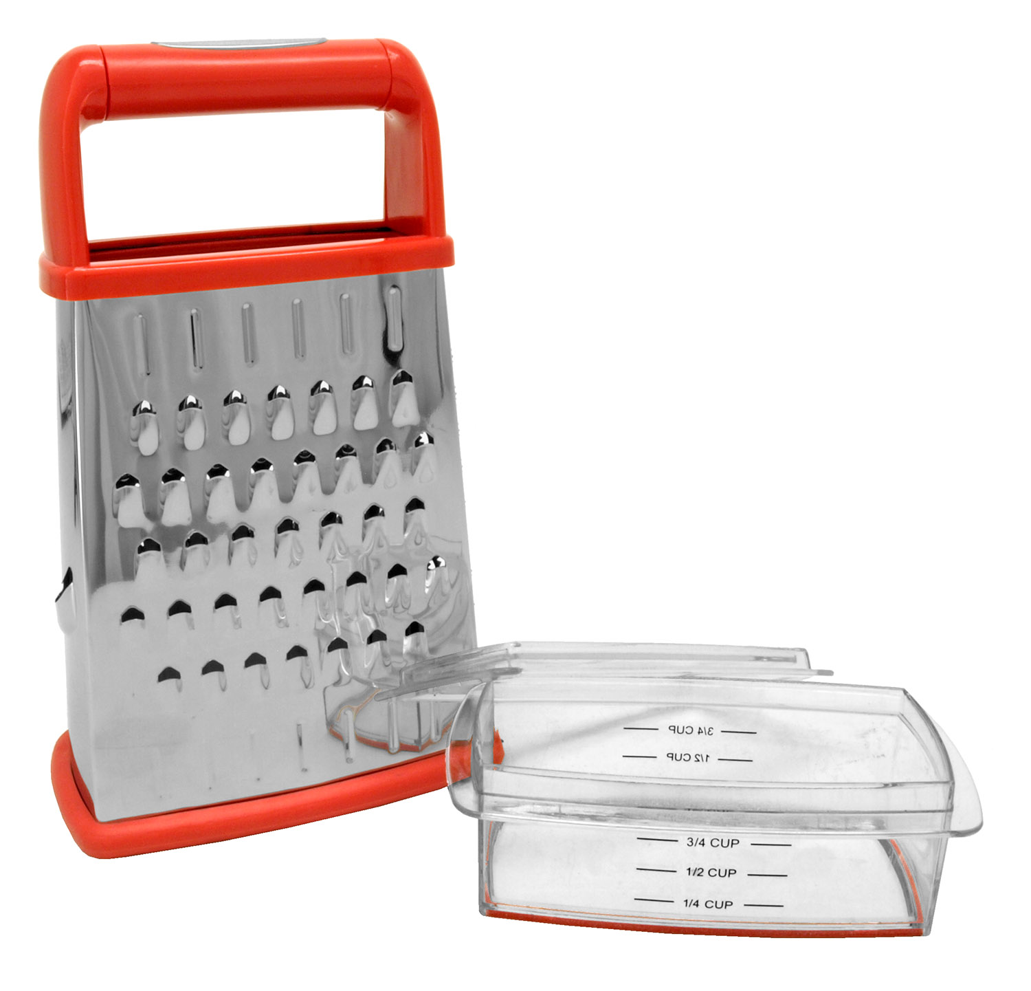 Chef Valley 4-Sided Grater with Storage Box