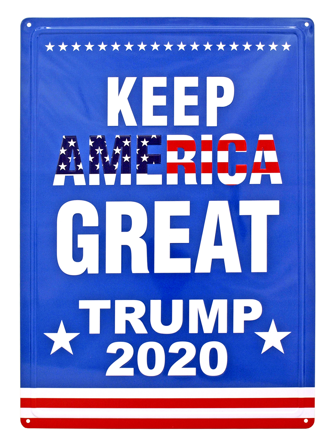 Keep America Great Trump 2020 Tin Metal Sign