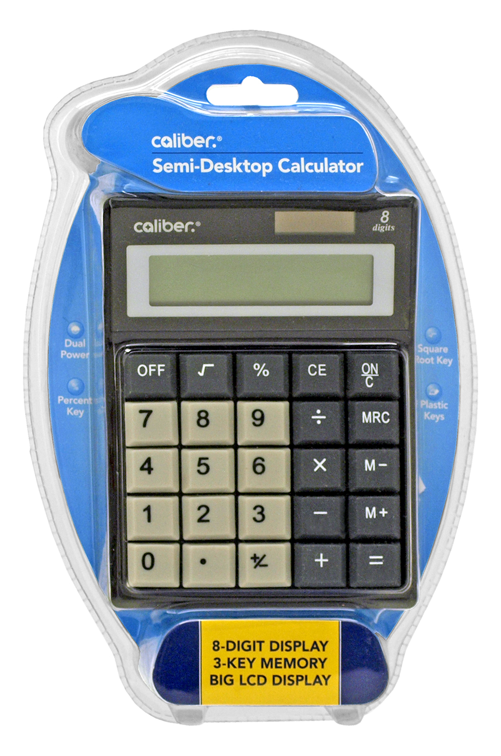 Caliber Large Desktop Calculator