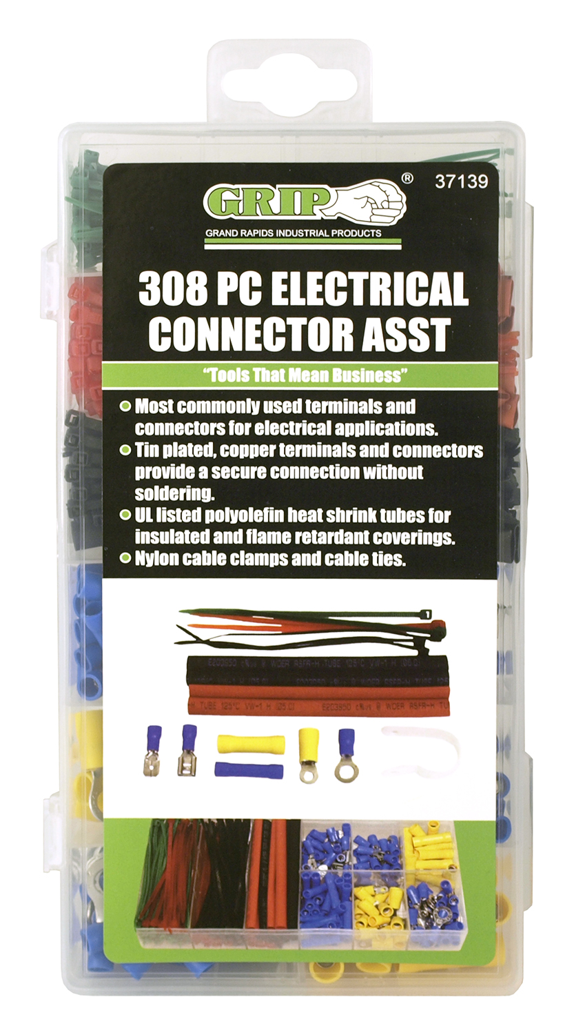 308 - pc. Electrical Connector Kit - Grip