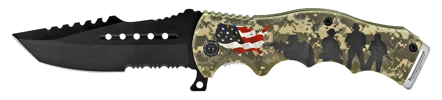 4.75 in American Artist Folding Knife - United States