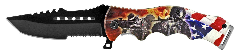 4.75 in American Artist Folding Knife - Navy