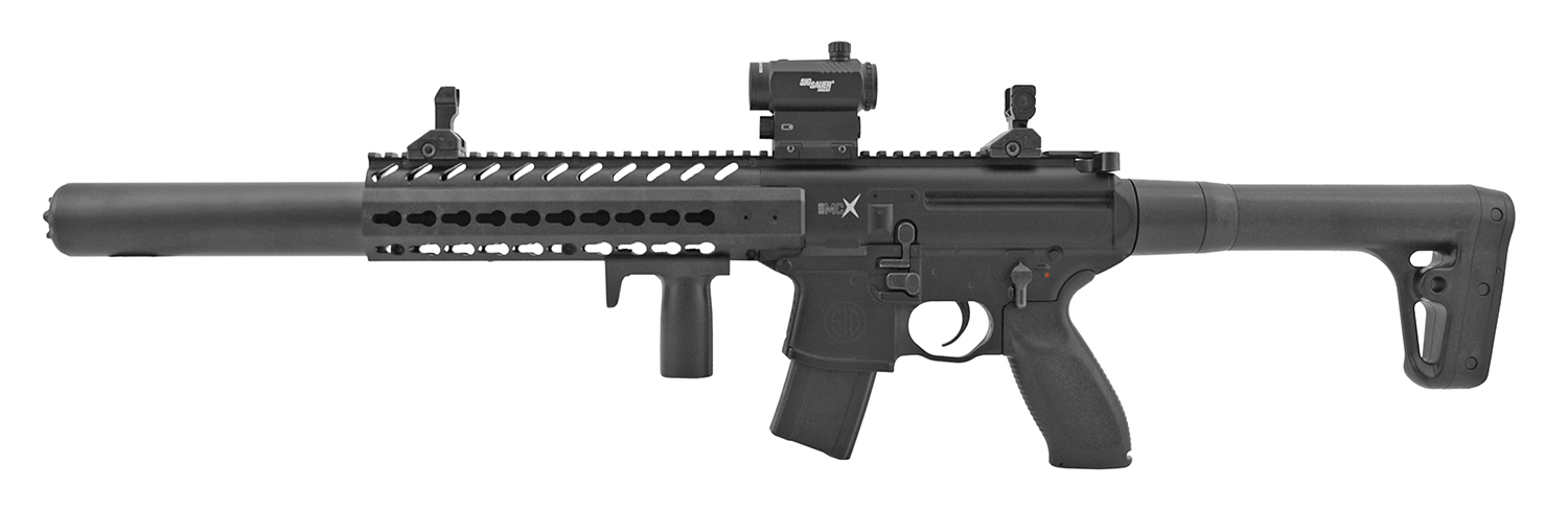 SIG Sauer Full Metal MCX .177 Cal. Air Pellet Assault Rifle with Scope - Black