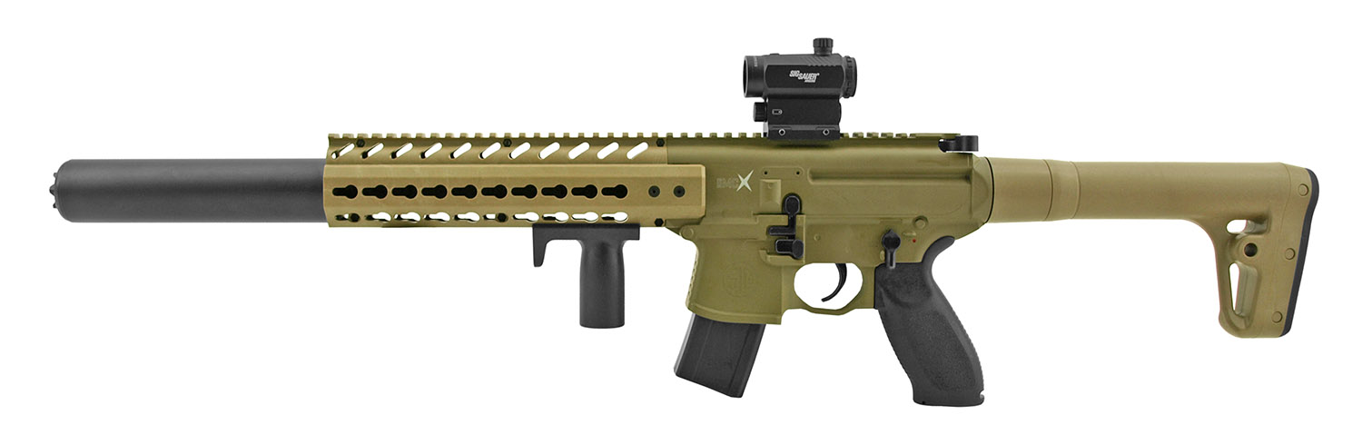 SIG Sauer Full Metal MCX .177 Cal. Air Pellet Assault Rifle with Scope - Desert Tan