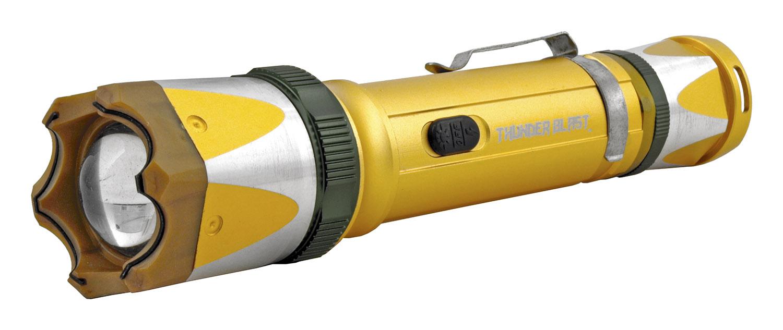 The Police Grade Stun Gun Flashlight - Golden Eye