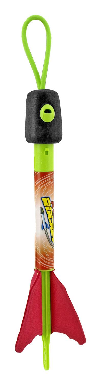 Slingshot Rocket Foam Flying Yard Dart Toy - Assorted Colors
