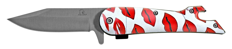 4.5 in Fisherman's Folding Knife - Loving Lips