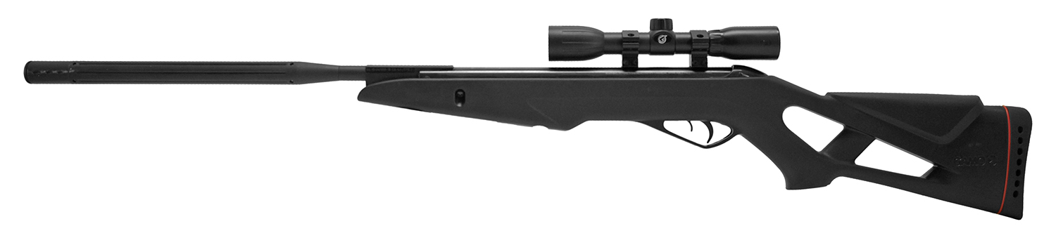 Gamo Whisper Silent Black Cat .177 Cal. Air Rifle with Scope - Refurbished