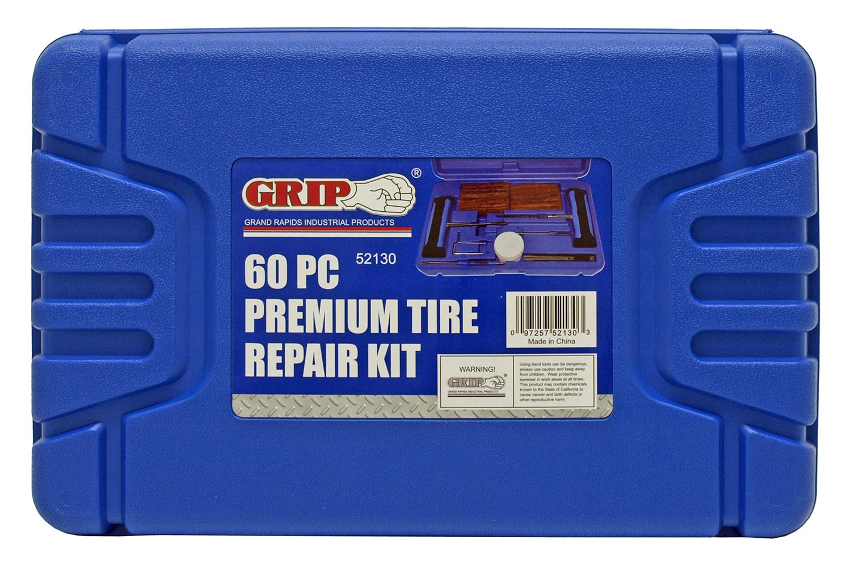 60 - pc. Premium Tire Repair Kit - Grip