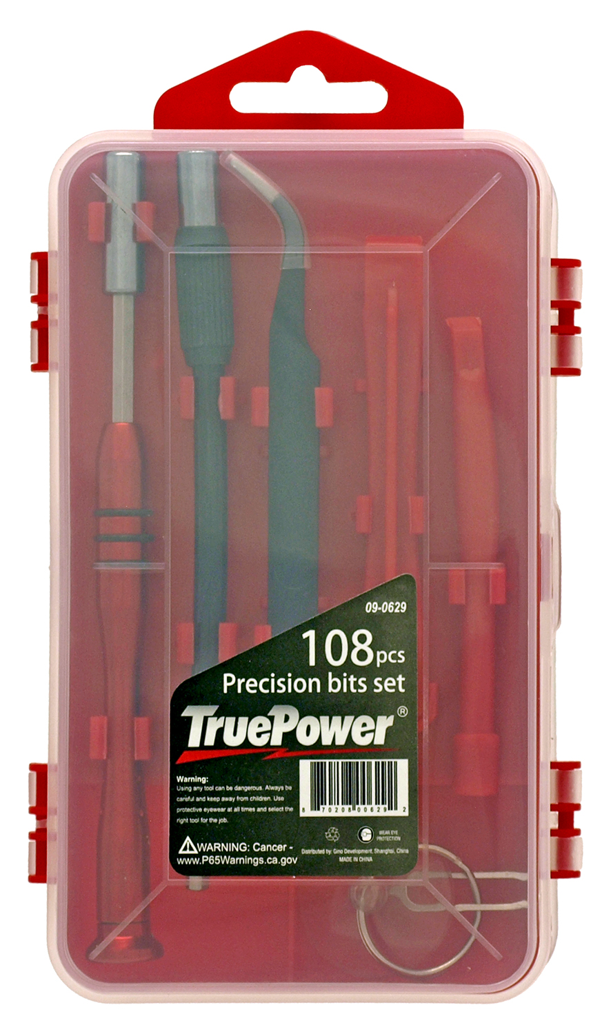 108 - pc. Precision Screwdriver Bit Set - True Power