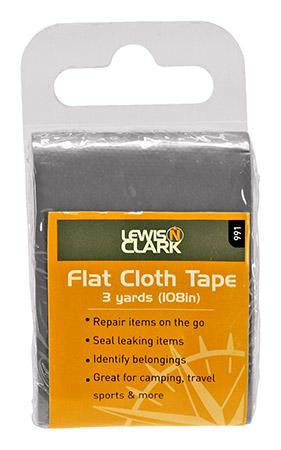 Flat Cloth Tape - Silver