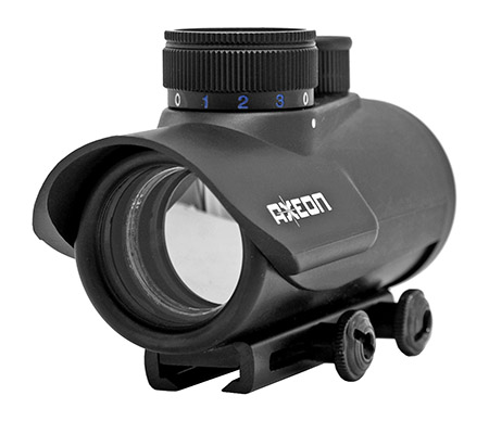 Axeon Optic Solutions 3XRDS Red/Green/Blue Dot Sight