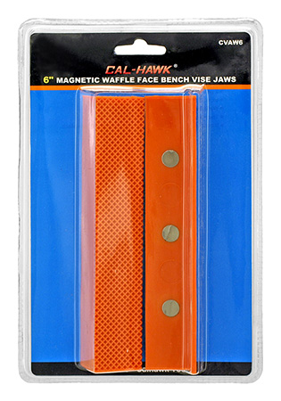 Cal-Hawk Magnetic Waffle Face Bench Vice Jaws