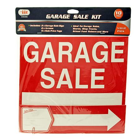 10-pc. Garage Sale SIGN Kit
