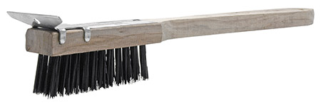 Jumbo Wire Brush w/ Scraper