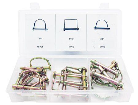 Safety Pin Assortment Cal Hawk Tools 20-pc